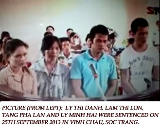 Khmer Krom indigenous activists sentenced for protecting Venerable Ly Chanda